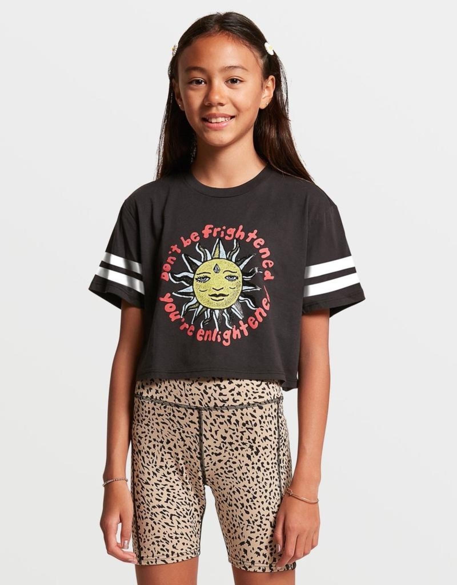 Big Girls Animal Print Lived In Lounge Bike Shorts