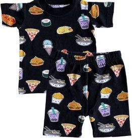 Whistle & Flute Kawaii Food Allover Print Short Pyjama Set
