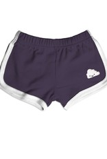 Whistle & Flute Kawaii Cloud Running Shorts in Black