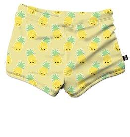Whistle & Flute Kawaii Pineapple Swim Trunks