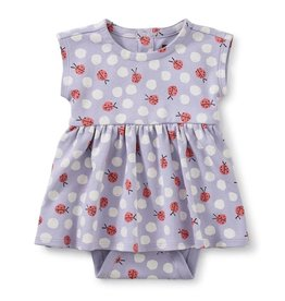 Tea Collection Lady Bug Print Sweet Sightings Baby Dress