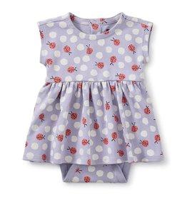 Tea Collection Tea Collection, Lady Bug Print Sweet Sightings Baby Dress, Lady Bug, NB