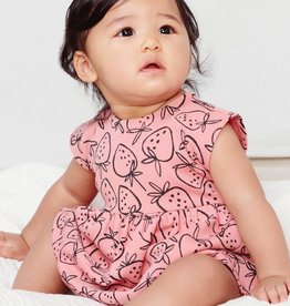 Tea Collection Tea Collection, Strawberry Sweet Sightings Baby Dress, Strawberries, (6-9mo)