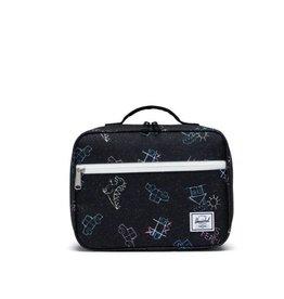 Herschel Supply Co. Popquiz Lunch Bag in Asphalt Chalk