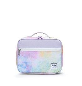 Herschel Supply Co. Popquiz Lunch Bag in Pastel Tie Dye/Pastel Lilac
