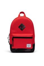 Herschel Supply Co. Heritage Backpack | Kids, Fiery Red/Night Camo, 9L