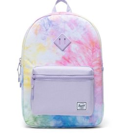 Herschel Supply Co. Heritage Backpack | Youth XL, Pastel Tie Dye/Pastel Lilac, 22L