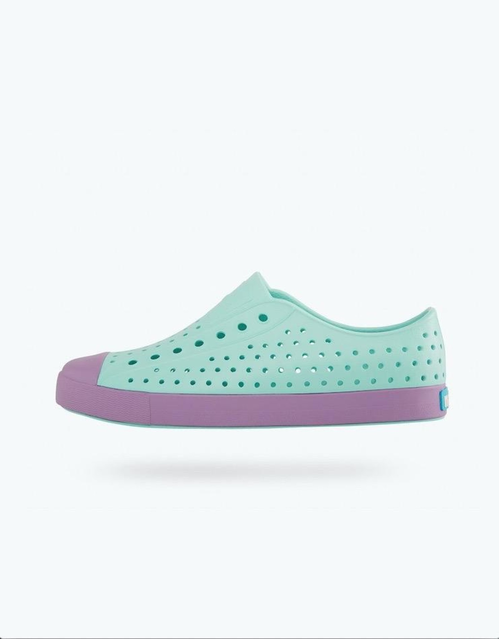 Native Shoes Jefferson Youth / Junior in Piedmont Blue/ Sea Fan Purple