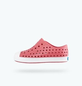 Native Shoes Jefferson Youth / Junior in Clover Pink/ Shell White