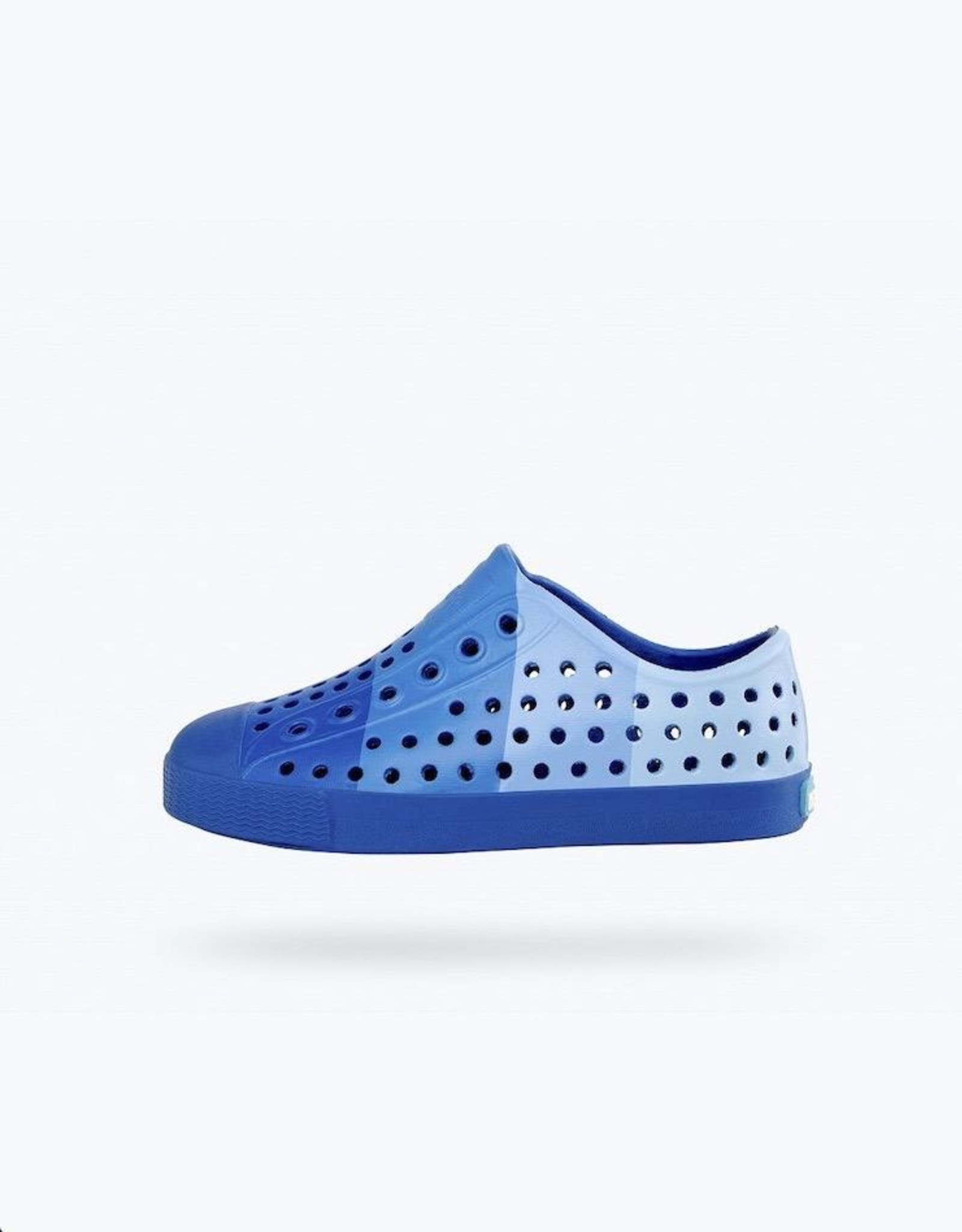 Native Shoes Crayola® Block Child Youth / Junior in Navy Niblet Blue Print