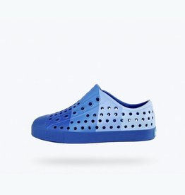 Native Shoes Crayola® Block Child in Navy Niblet Blue Print