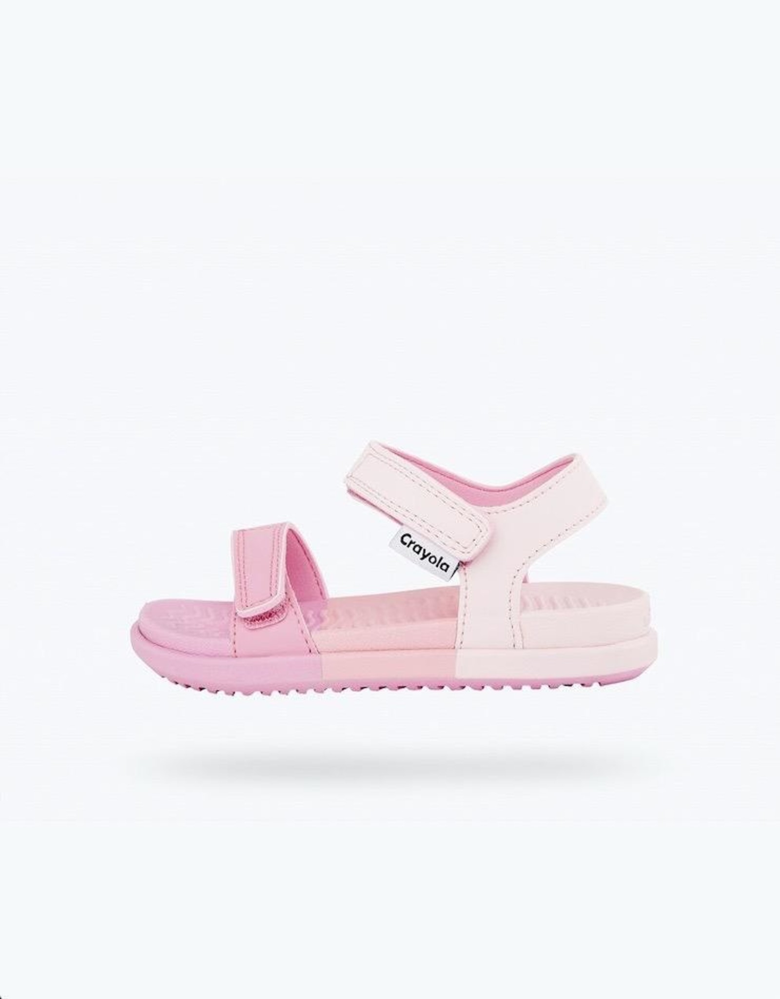 Native Shoes Charley Crayola® Block Child Awesome Pink/ Block Print