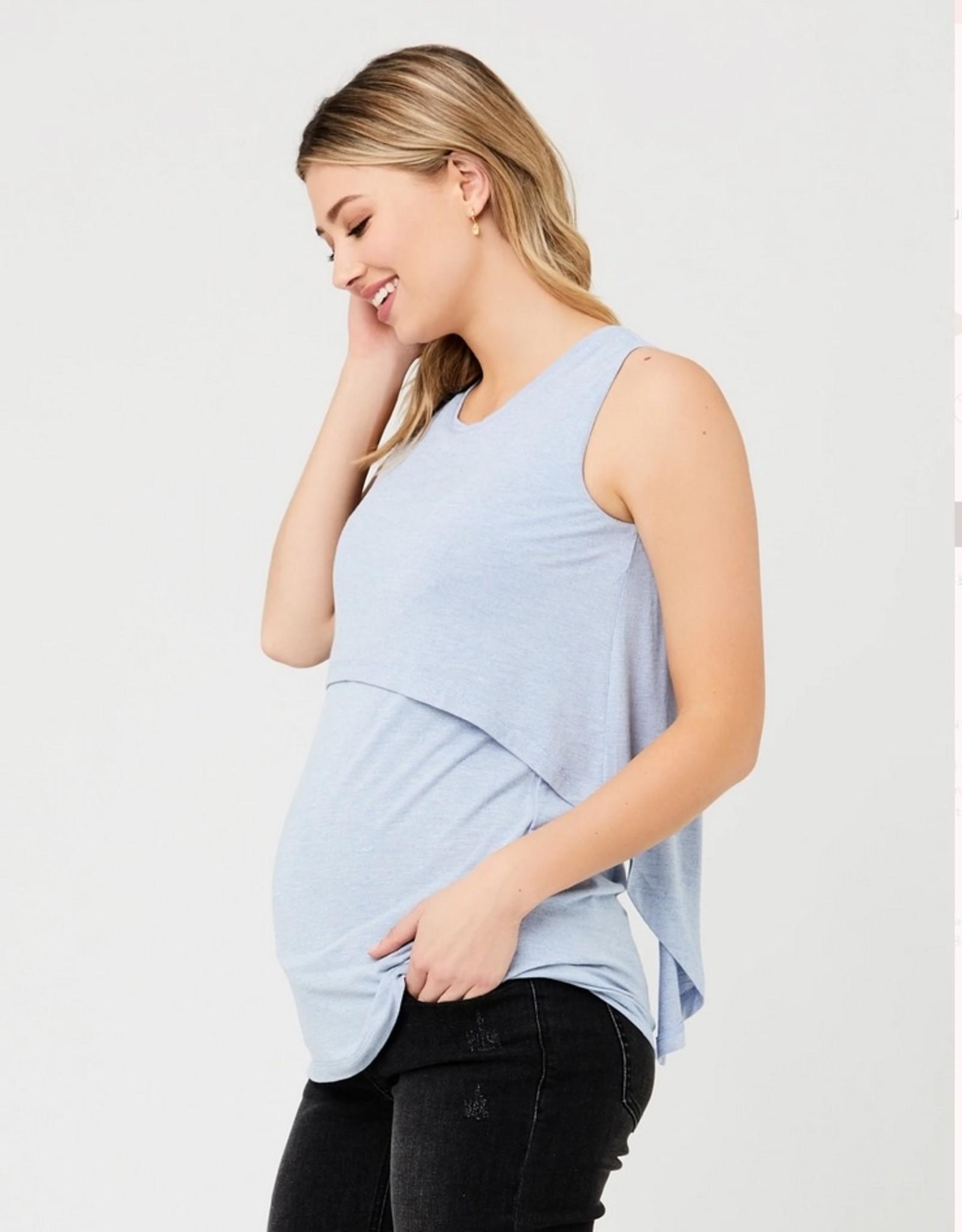 Ripe Maternity Sky Summer Swing Back Nursing Tank