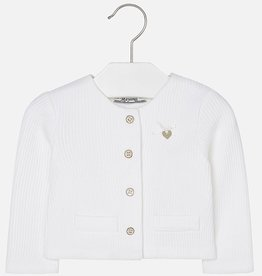 Mayoral Baby Girls' Jersey Cardigan with Round Neckline