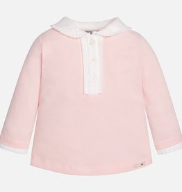 Mayoral Baby Girls' Basic Long Sleeve Polo Shirt