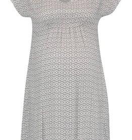 Queen Mum V-Neck Dress