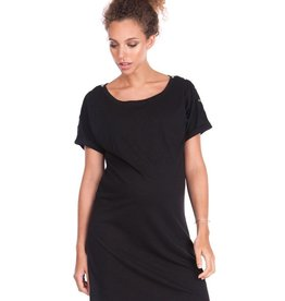 Seraphine Paulette Cotton Maternity & Nursing Dress