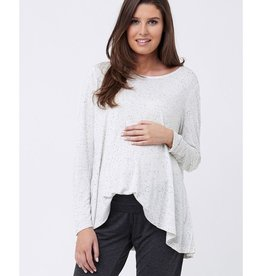 Ripe Maternity Speckle Knit Swing Top