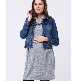 Ripe Maternity Melange Tunic Dress