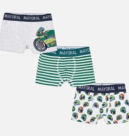 Mayoral Set of 3 Boxer Shorts for Boy