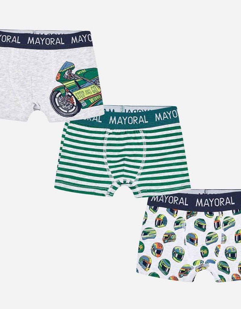 709631a0e602e Mayoral Set of 3 Boxer Shorts for Boy - Steveston Village Maternity