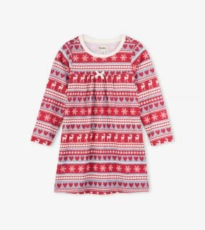 Hatley Hatley Nightdress Fair Isle