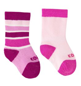 Kombi Sports Inc. Kombi Color Fan Sock 2pk