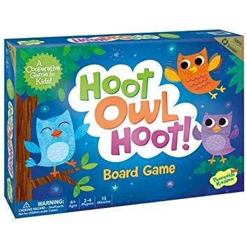 Peaceable Kingdom Hoot Owl Hoot Board Game