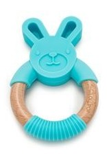 Loulou Lollipop Loulou Lollipop Bunny Silicone and Wood Teether
