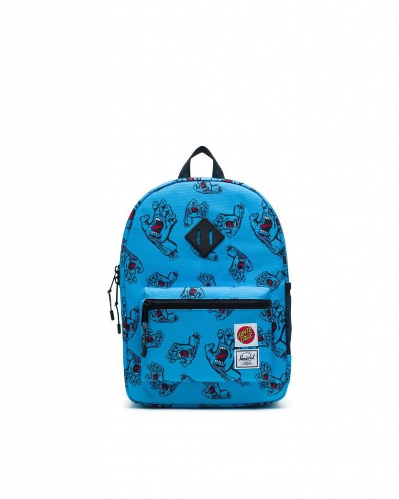 a158739d9e1b Shop the Herschel Heritage Youth Santa Cruz Blue Backpack at Pebble ...