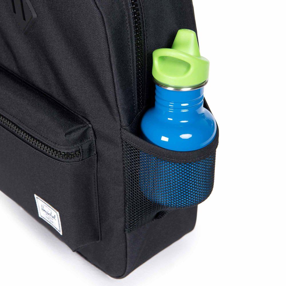 Herschel Heritage Youth Backpack Mesh Pockets