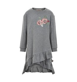 Creamie Creamie Rose Sweatshirt Dress