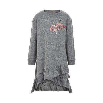 Creamie Creamie Rose Sweatshirt Dress