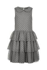 Creamie Creamie Tulle Glitter Dot Round Neck Dress