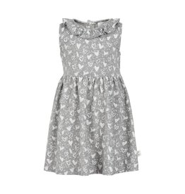Creamie Creamie Printed Hearts Jersey Dress