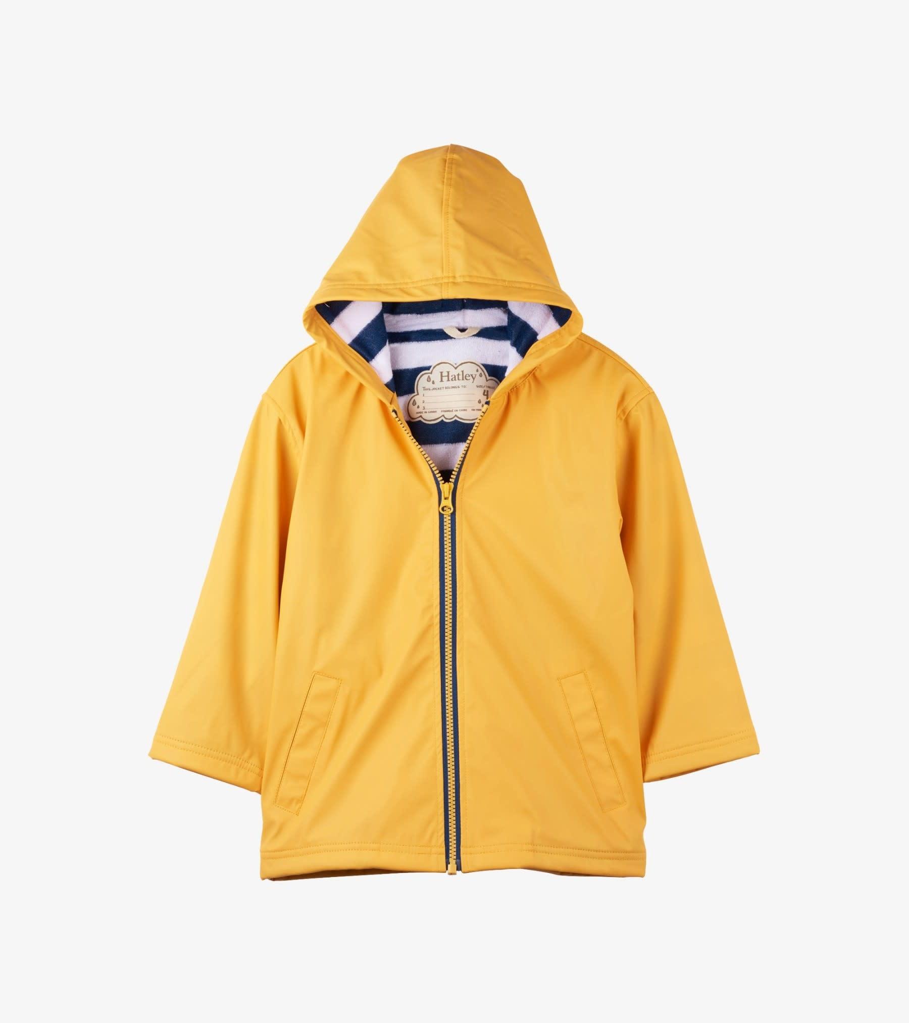 Hatley Hatley Splash Jacket Yellow and Navy