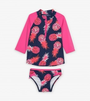 Hatley Hatley Party Pineapples Rashguard Set