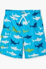 Hatley Hatley Great White Sharks Swim Trunks