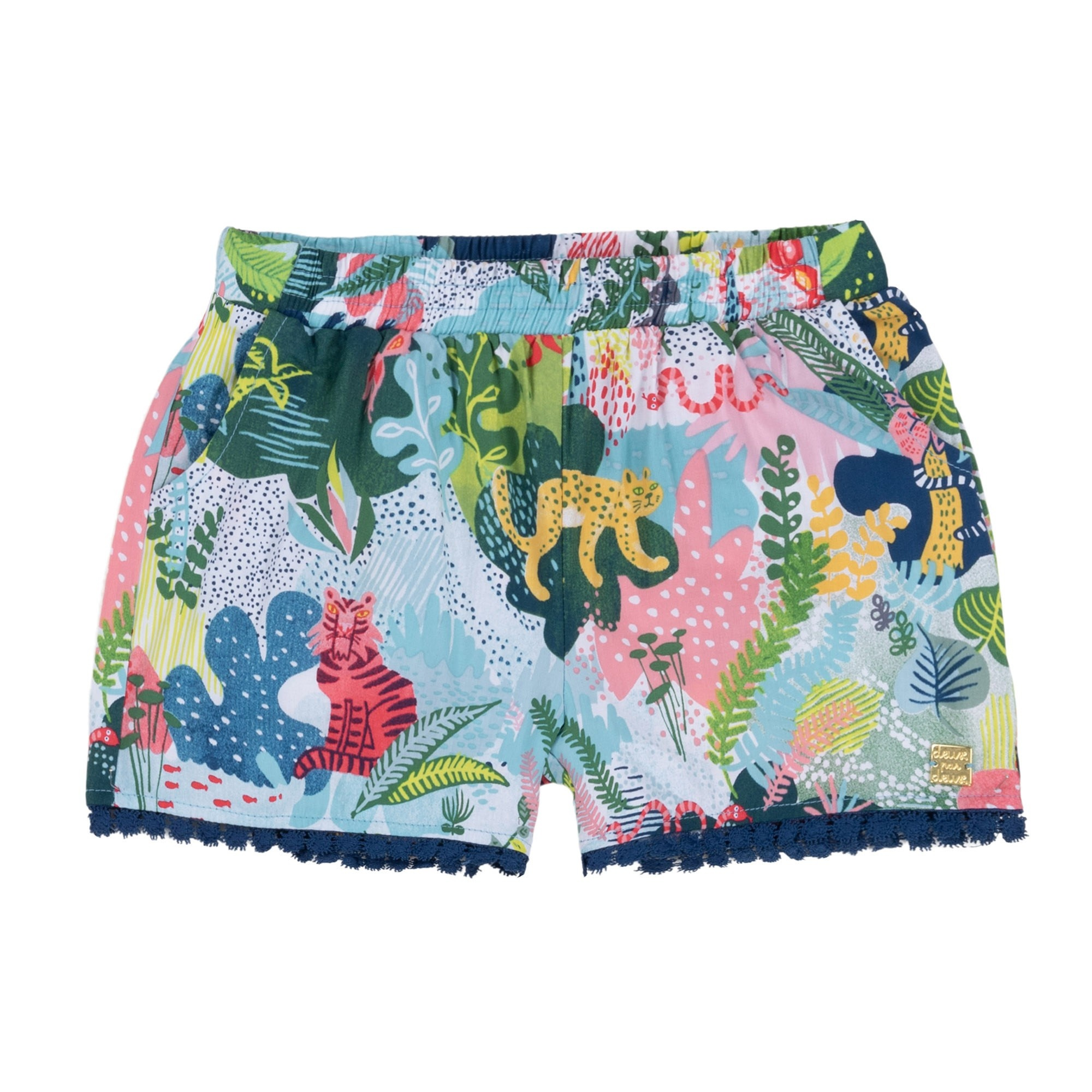 Deux par Deux Deux par Deux Queen of the Jungle Short
