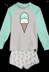 Whistle & Flute Kawaii Ice Cream Rashguard