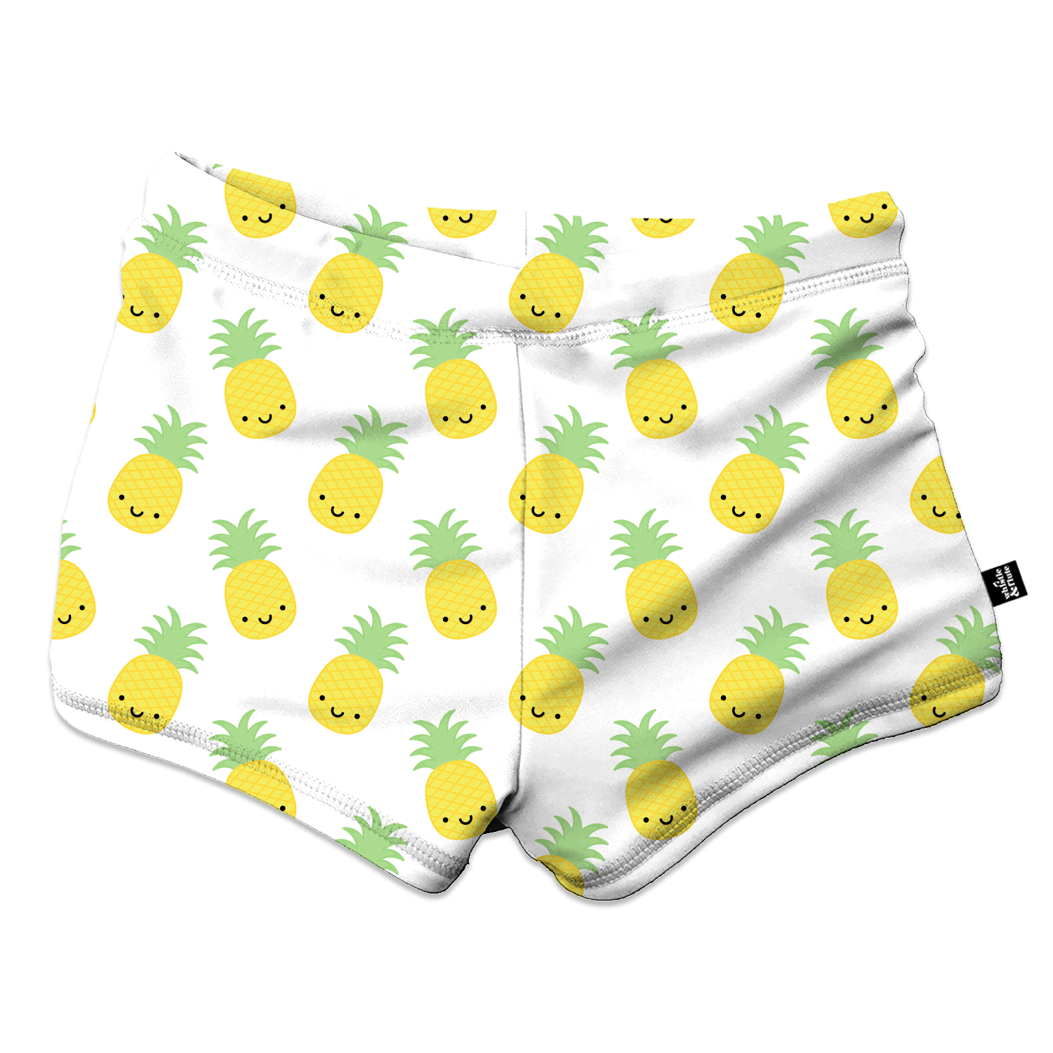 Whistle & Flute Kawaii Pineapple Swim Trunks