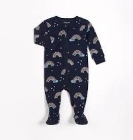 Petit Lem Petit Lem Footed Sleeper Rainbow