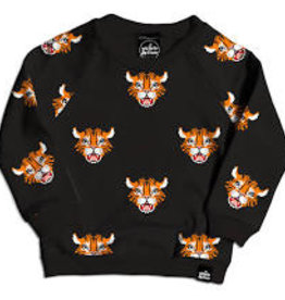 Whistle & Flute Whistle & Flute Tiger Allover Print Sweatshirt