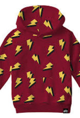 Whistle & Flute Whistle & Flute Lightning Bolt Allover Print Hooded Sweatshirt