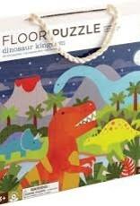 Petit Collage Dinosaur Kingdom Floor Puzzle