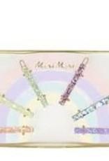 meri meri Meri Meri Glitter Rainbow Hair Clips