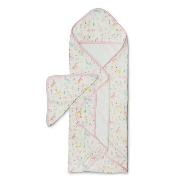 Loulou Lollipop Loulou Lollipop Hooded Towel Set