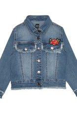 Deux par Deux Deux par Deux Denim Jacket with Patch