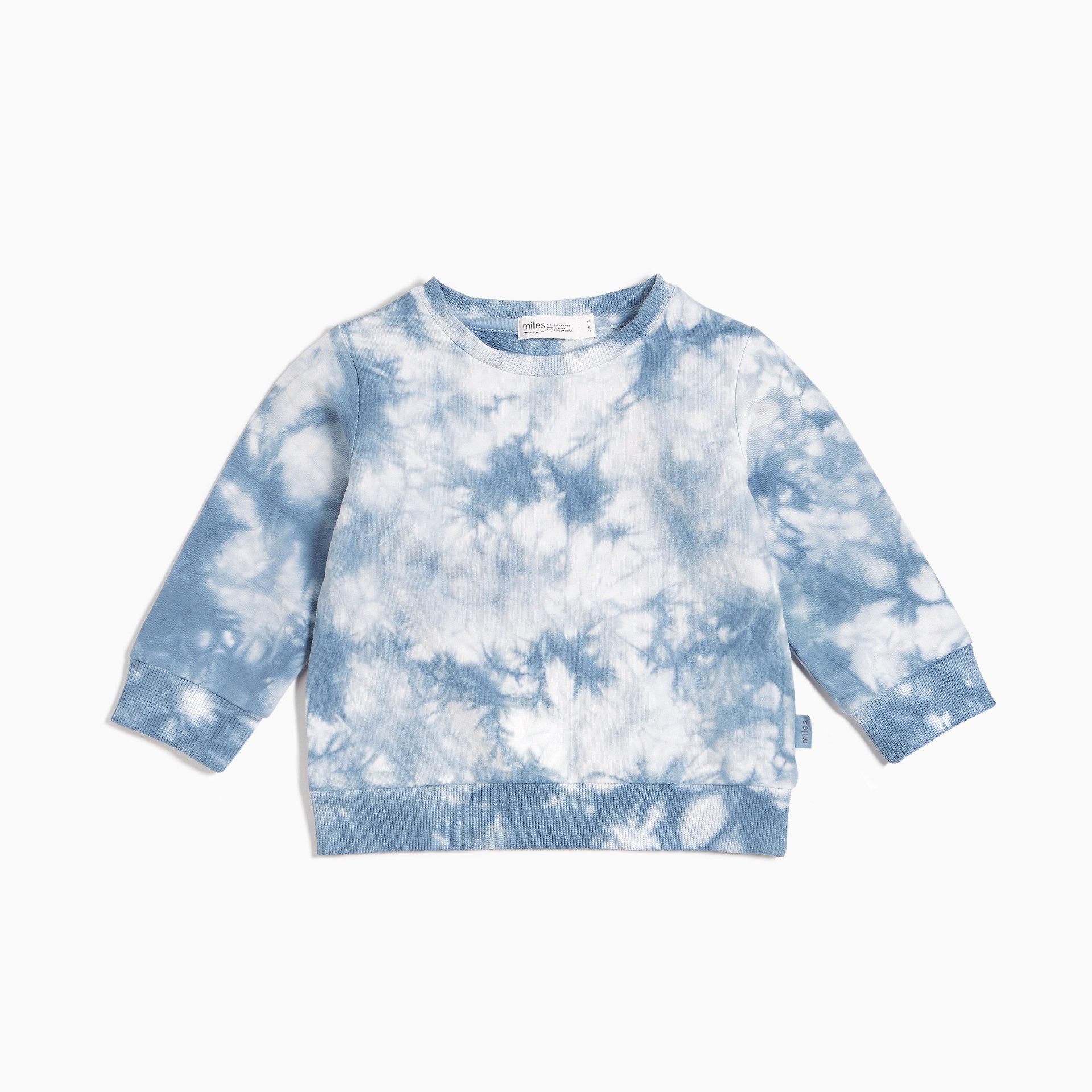 Miles Baby Miles Baby Candy Sky Tie Die Sweatshirt Infant