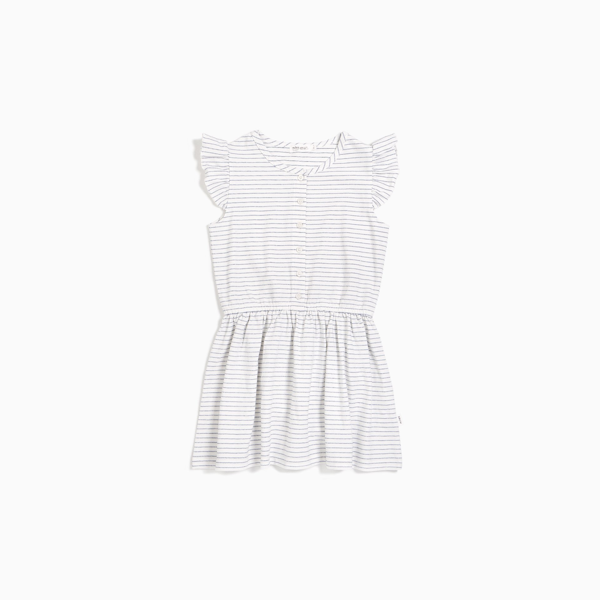 Miles Baby Miles Baby Candy Sky Stripe Flutter Dress Infant